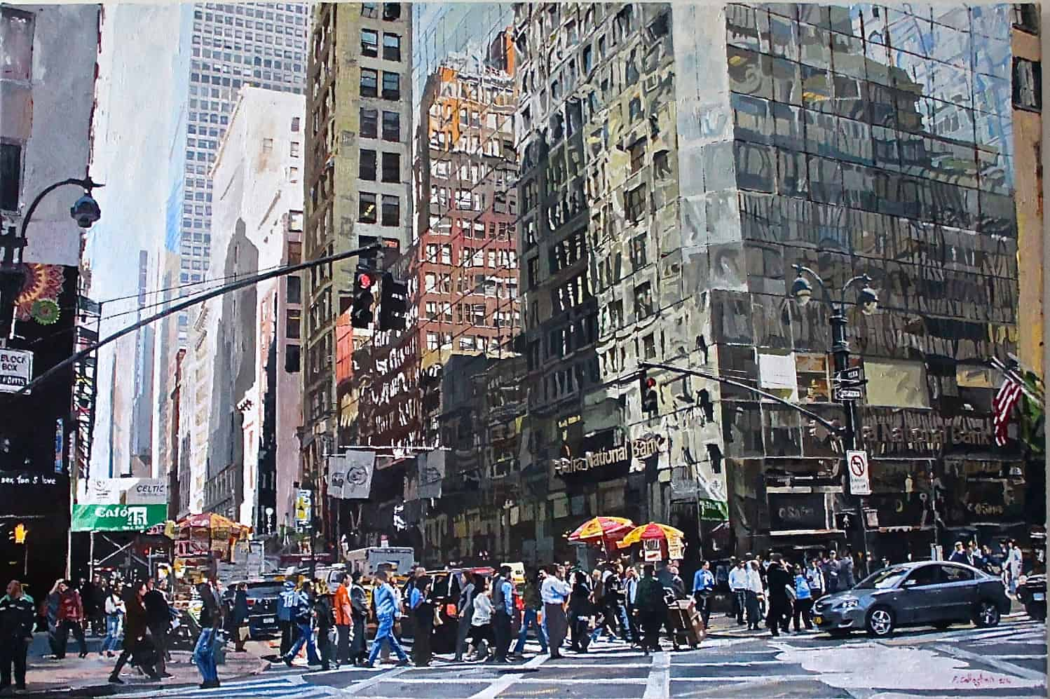 5th Avenue NY Painted by Frank Callaghan