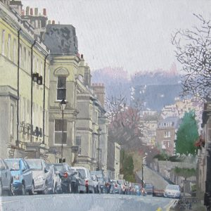 Bath Painted by Frank Callaghan in oil on Canvas.
