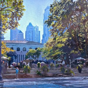 Bryant Park. New York