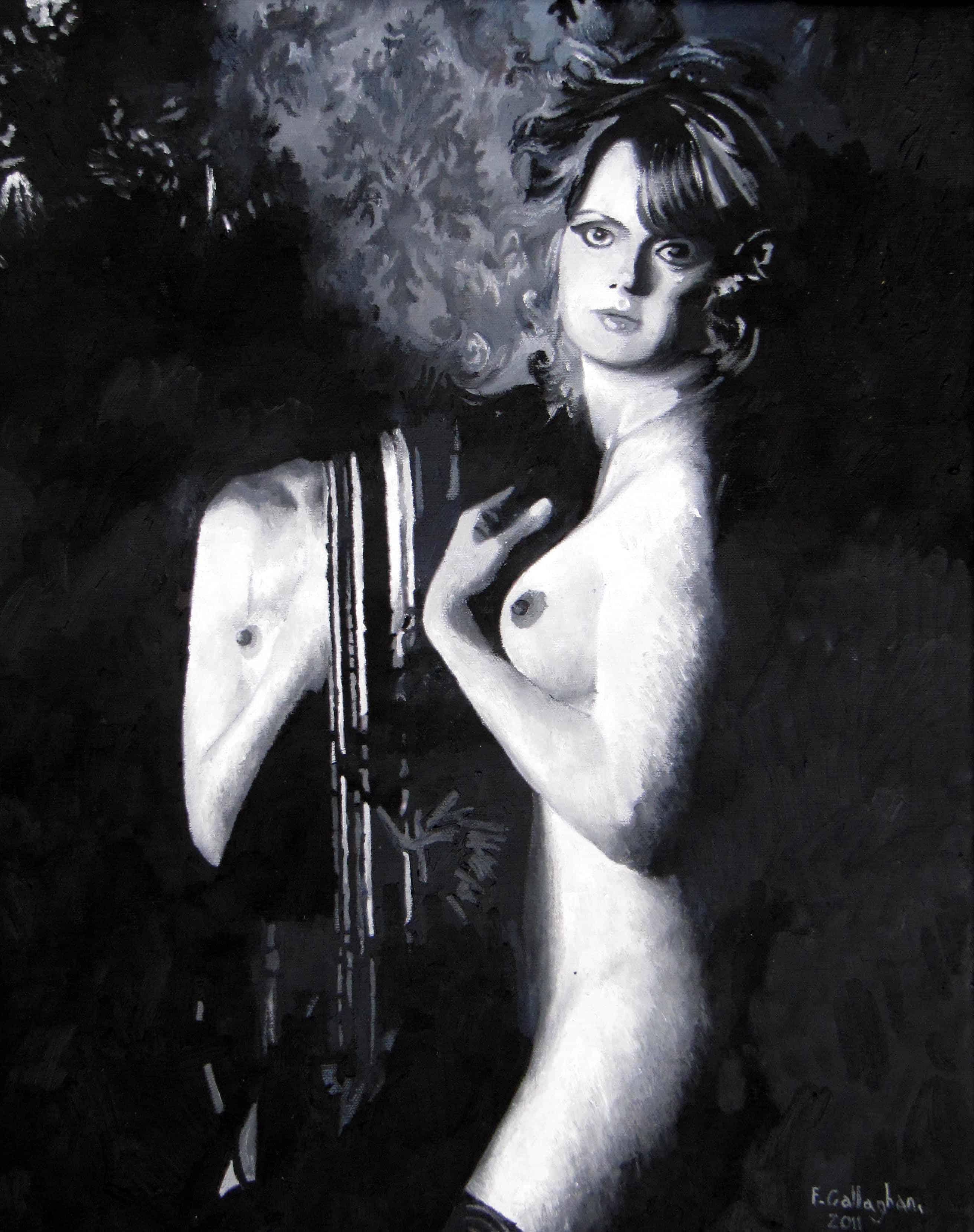 Hazel Manuel nude portrait