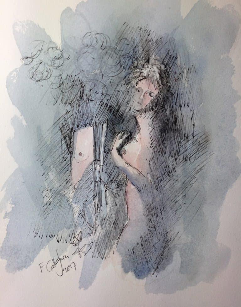 Hazel Watercolour