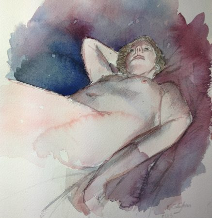 Mandy Green Water colour 2