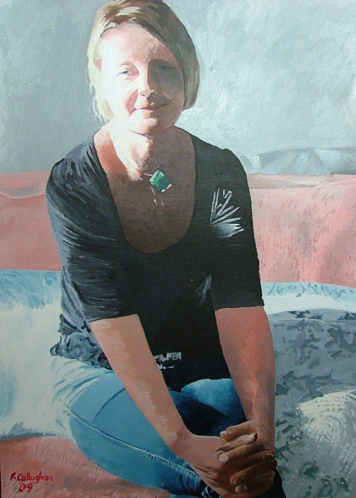 Mandy Green in Black Top
