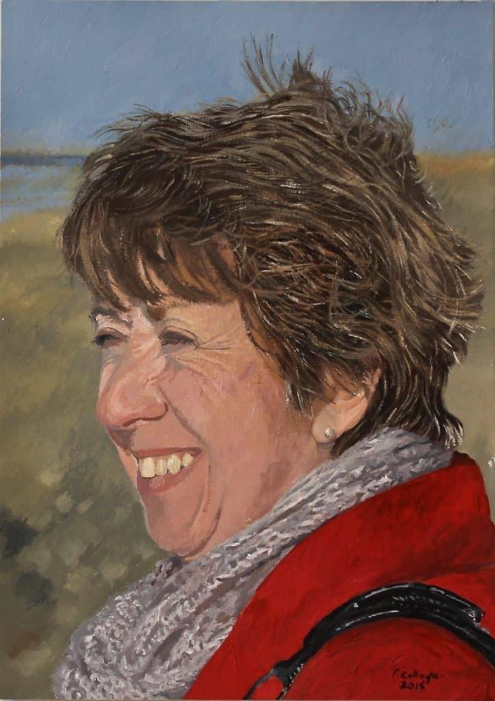 Paula Griffin female portrait