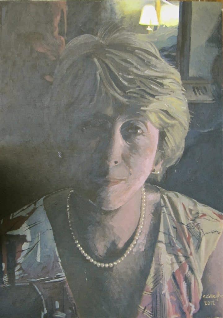 Paula Griffin the secretary