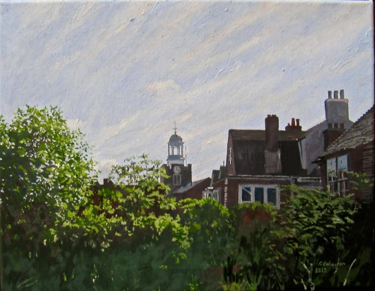 St Thomas Lymington Painted by Frank Callaghan
