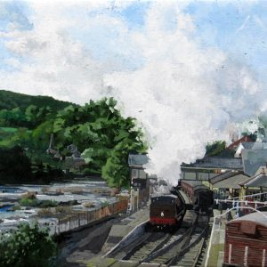 The Station at Llangollen Steam Railway
